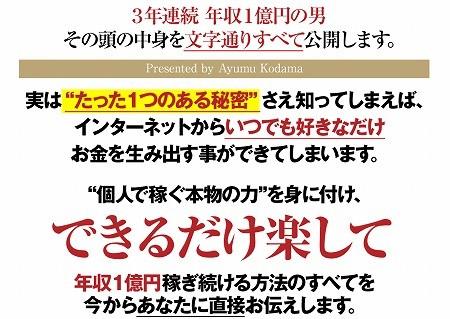 小玉歩のフロントラインマーケティング2015